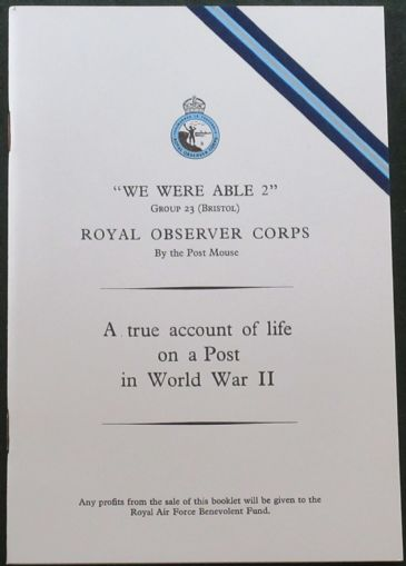 We Were Able 2 (Group 23 Bristol), Royal Observer Corps